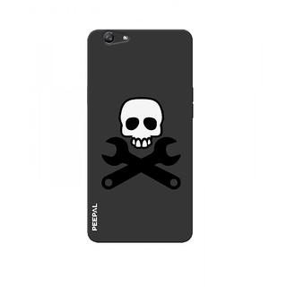 PEEPAL Oppo F3 Designer & Printed Case Cover 3D Printing Danger Design
