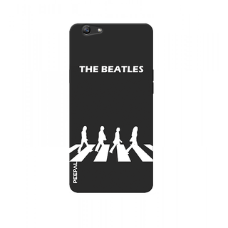 PEEPAL Oppo F3 Designer & Printed Case Cover 3D Printing The Beatles Design