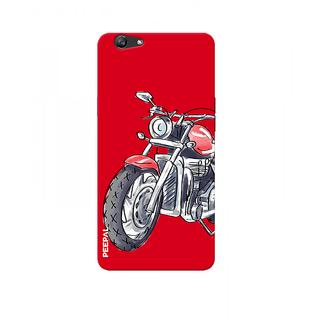 PEEPAL Oppo F3 Designer & Printed Case Cover 3D Printing Ride Motorcycle Design