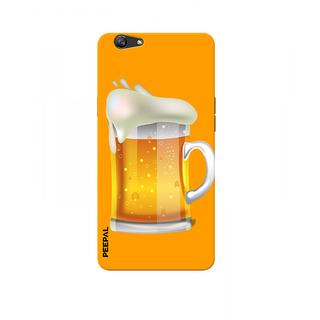 PEEPAL Oppo F3 Designer & Printed Case Cover 3D Printing Beer Mug  Design