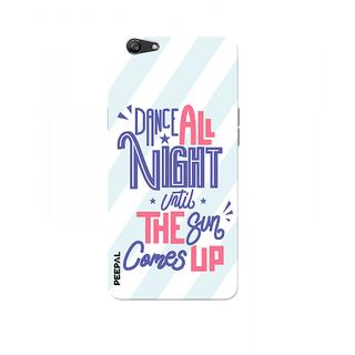 PEEPAL Oppo F3 Designer & Printed Case Cover 3D Printing Dance All Night Design