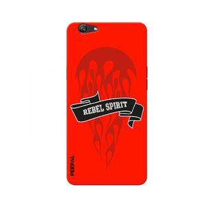 PEEPAL Oppo F3 Designer & Printed Case Cover 3D Printing Rider Design
