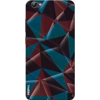 PEEPAL Vivo Y66 Designer & Printed Case Cover 3D Printing Art Multi Colour Design