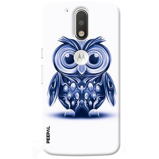 PEEPAL Motorola G4 Plus Designer & Printed Case Cover 3D Printing Ulooo Design