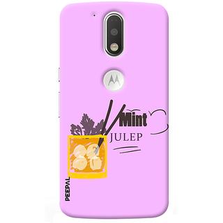 PEEPAL Motorola G4 Plus Designer & Printed Case Cover 3D Printing Cocktail Design