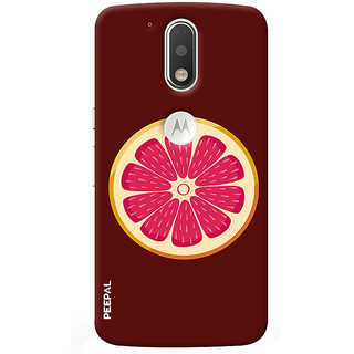PEEPAL Motorola G4 Plus Designer & Printed Case Cover 3D Printing Fruit Design