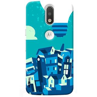 PEEPAL Motorola G4 Plus Designer & Printed Case Cover 3D Printing Art Multi Colour Design