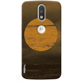 PEEPAL Motorola G4 Plus Designer & Printed Case Cover 3D Printing Beauty Of Sun Design
