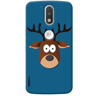 PEEPAL Motorola G4 Plus Designer & Printed Case Cover 3D Printing Cartoon Design