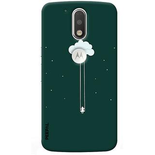 PEEPAL Motorola G4 Plus Designer & Printed Case Cover 3D Printing Hanging In Sky Design