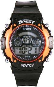 New Brand sport orange  watch for boys.