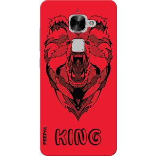 PEEPAL LeTv Le2 Designer & Printed Case Cover 3D Printing Lion King Design