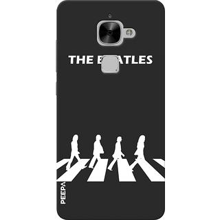 PEEPAL LeTv Le2 Designer & Printed Case Cover 3D Printing The Beatles Design