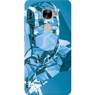 PEEPAL LeTv Le2 Designer & Printed Case Cover 3D Printing Crystle Man Design