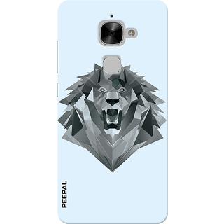 PEEPAL LeTv Le2 Designer & Printed Case Cover 3D Printing Demon Lion Design