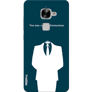 PEEPAL LeTv Le2 Designer & Printed Case Cover 3D Printing Anonymous Design