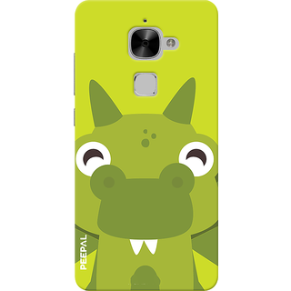 PEEPAL LeTv Le2 Designer & Printed Case Cover 3D Printing Happy Frog Design