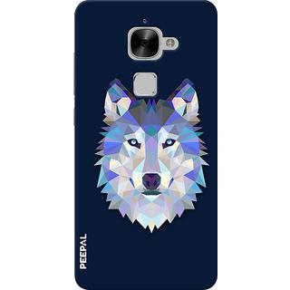 PEEPAL LeTv Le2 Designer & Printed Case Cover 3D Printing Artist Wolf Design
