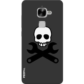 PEEPAL LeTv Le2 Designer & Printed Case Cover 3D Printing Danger Design