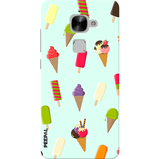 PEEPAL LeTv Le2 Designer & Printed Case Cover 3D Printing Ice Cream Love Design
