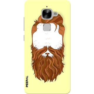 PEEPAL LeTv Le2 Designer & Printed Case Cover 3D Printing Beard Design