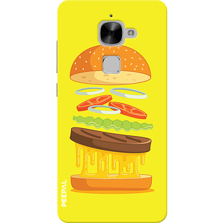 PEEPAL LeTv Le2 Designer & Printed Case Cover 3D Printing Food Love Design