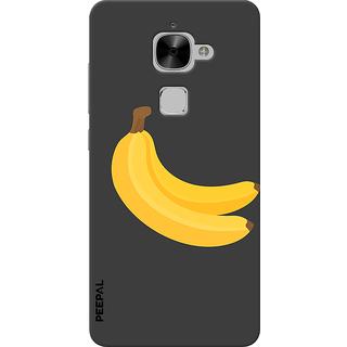 PEEPAL LeTv Le2 Designer & Printed Case Cover 3D Printing Banana Design
