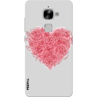 PEEPAL LeTv Le2 Designer & Printed Case Cover 3D Printing Love Design