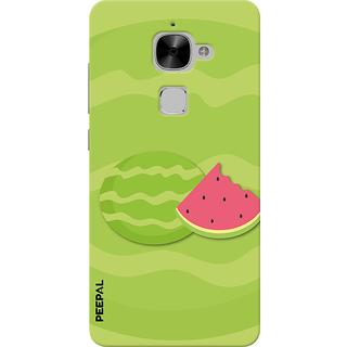 PEEPAL LeTv Le2 Designer & Printed Case Cover 3D Printing Watermelon Design