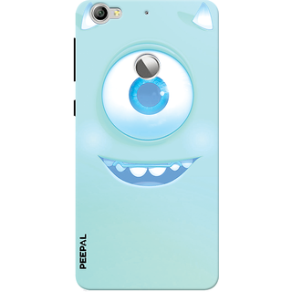 PEEPAL LeTv Le1s Designer & Printed Case Cover 3D Printing Happy Eye Design