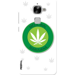 PEEPAL LeTv Le2 Designer & Printed Case Cover 3D Printing Weed For Life Design