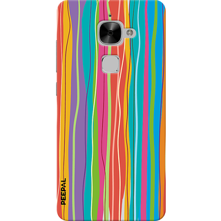 PEEPAL LeTv Le2 Designer & Printed Case Cover 3D Printing Art Multi Colour Design