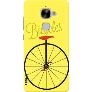 PEEPAL LeTv Le2 Designer & Printed Case Cover 3D Printing Bicycle Design