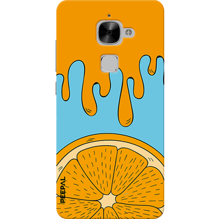 PEEPAL LeTv Le2 Designer & Printed Case Cover 3D Printing Orange Design