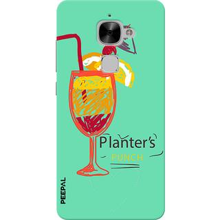 PEEPAL LeTv Le2 Designer & Printed Case Cover 3D Printing Cocktail Design