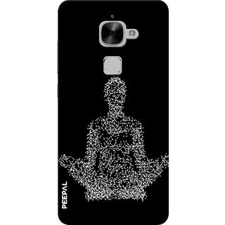 PEEPAL LeTv Le2 Designer & Printed Case Cover 3D Printing Yoga Design