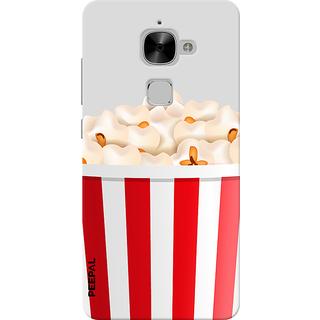 PEEPAL LeTv Le2 Designer & Printed Case Cover 3D Printing Popcorn Design