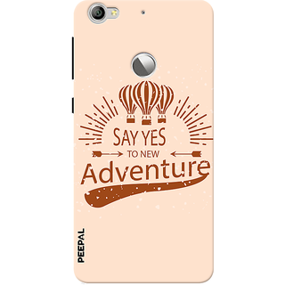 PEEPAL LeTv Le1s Designer & Printed Case Cover 3D Printing Adventure Design