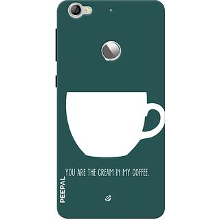 PEEPAL LeTv Le1s Designer & Printed Case Cover 3D Printing Coffee Love Design