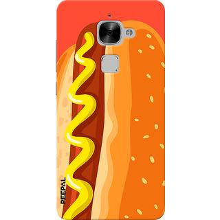PEEPAL LeTv Le2 Designer & Printed Case Cover 3D Printing Hotdog Design