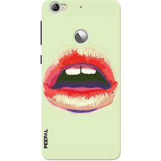PEEPAL LeTv Le1s Designer & Printed Case Cover 3D Printing Lusty Lips Design