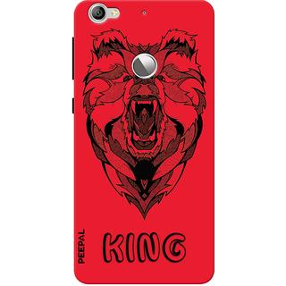 PEEPAL LeTv Le1s Designer & Printed Case Cover 3D Printing Lion King Design