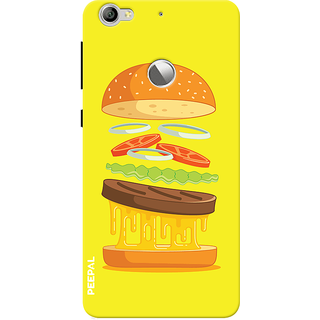 PEEPAL LeTv Le1s Designer & Printed Case Cover 3D Printing Food Love Design