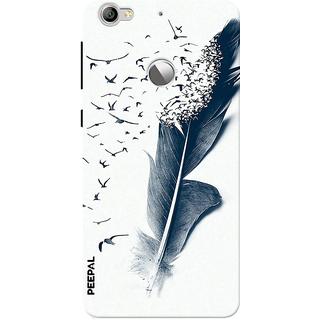 PEEPAL LeTv Le1s Designer & Printed Case Cover 3D Printing Fading Birds Design