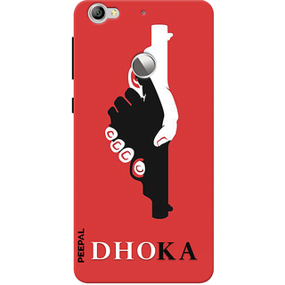PEEPAL LeTv Le1s Designer & Printed Case Cover 3D Printing Dhoka Design