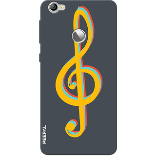 PEEPAL LeTv Le1s Designer & Printed Case Cover 3D Printing Music Design