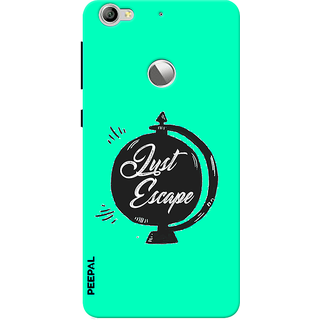 PEEPAL LeTv Le1s Designer & Printed Case Cover 3D Printing Quote Design