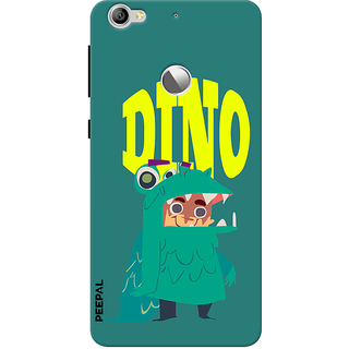 PEEPAL LeTv Le1s Designer & Printed Case Cover 3D Printing Dino Design
