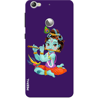 PEEPAL LeTv Le1s Designer & Printed Case Cover 3D Printing Krishna Design