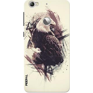 PEEPAL LeTv Le1s Designer & Printed Case Cover 3D Printing King Of Birds Design